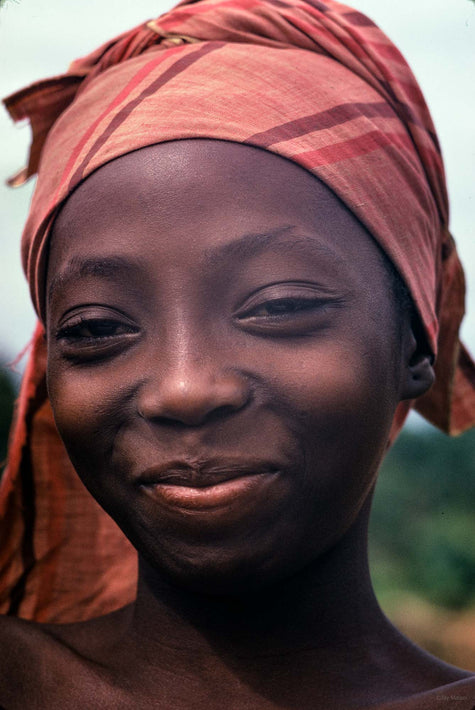 Girl with Headscarf, Liberia