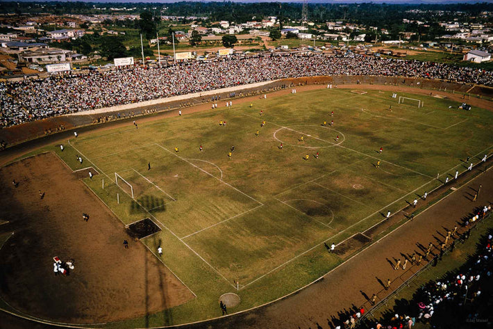 Overhead View of Stadium, Ghana