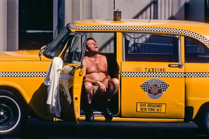 Hot Cabbie, NYC