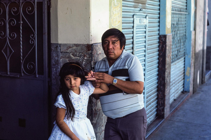 Father and Daughter, Oaxaca