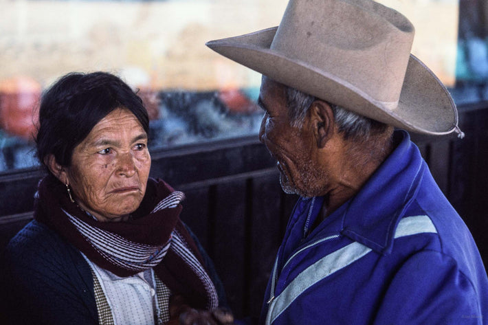 Man and Skeptical Wife, Oaxaca