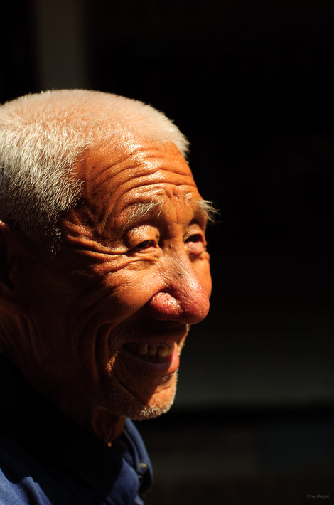 Older Man Smiling, Pingyao