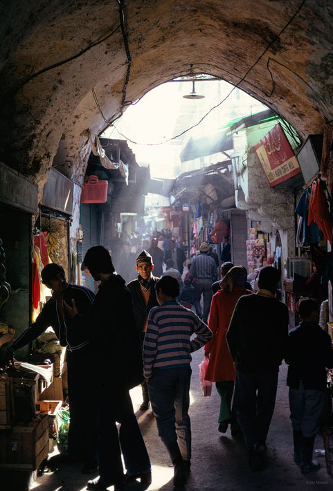 Market with Arch, Jerusalem