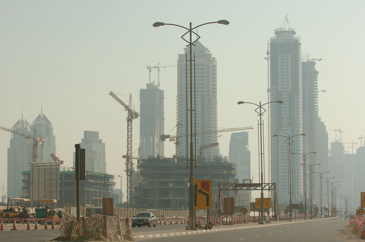 Cranes and Buildings, Dubai