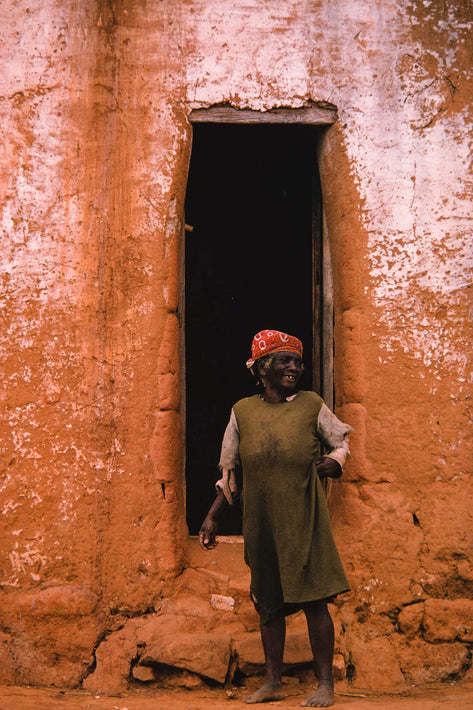 Older Woman in Doorway, Antananarivo