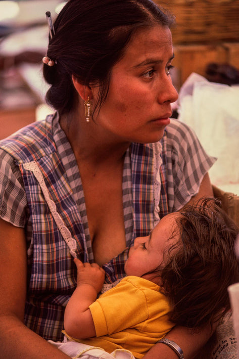 Woman with Baby, Oaxaca