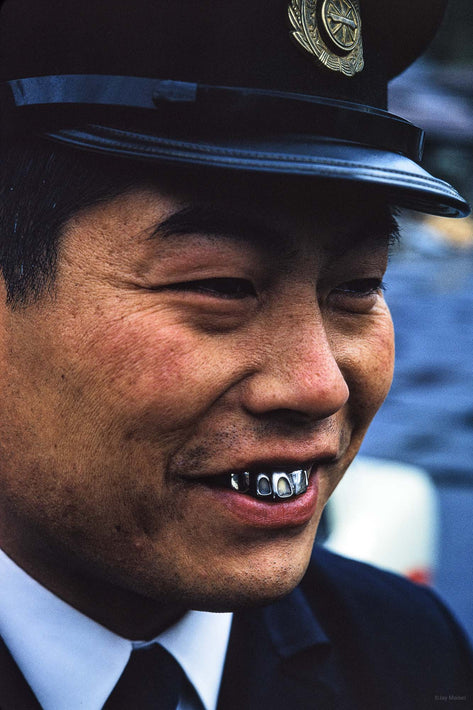 Conductor with Silver Teeth, Tokyo