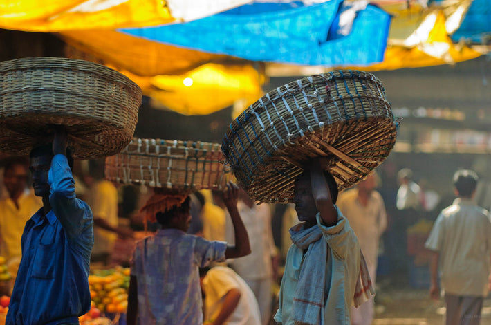 Baskets on Heads, Mumbai