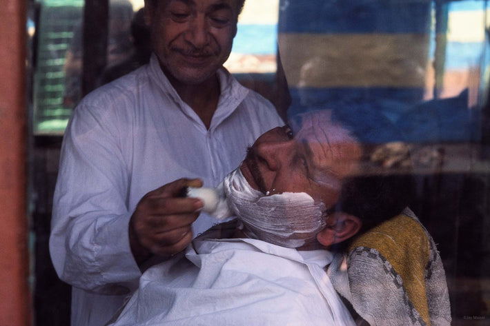 Man Being Shaved, Egypt