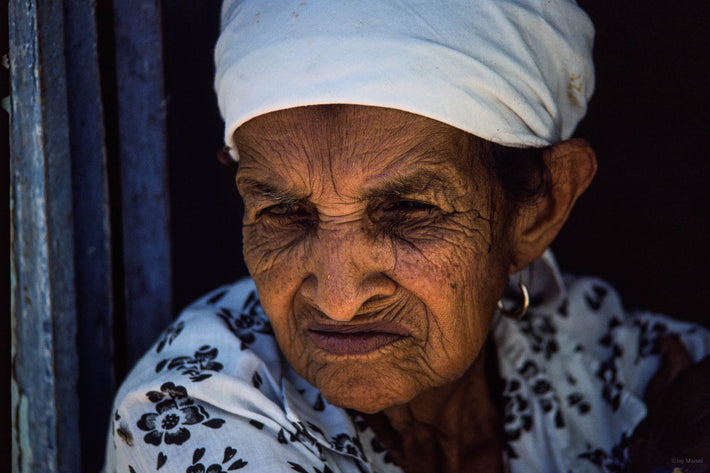 Old Woman, White Headpiece, Bahia