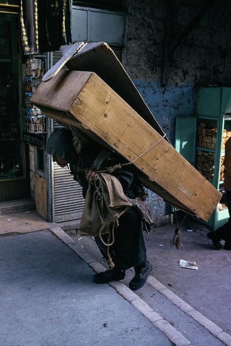 Carrying Coffin, Jerusalem