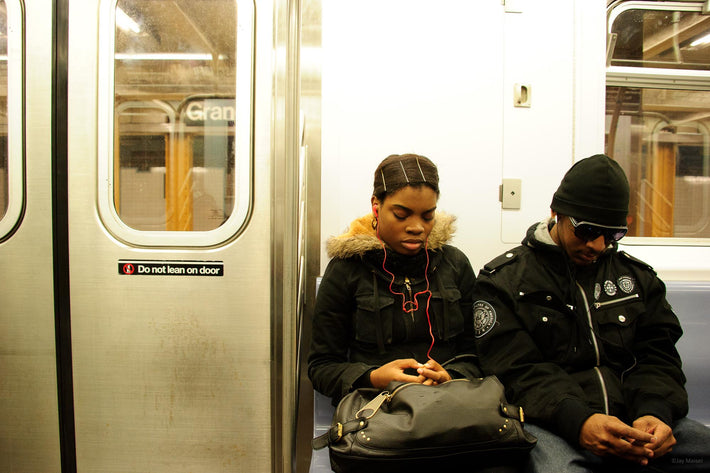 Two on Subway, NYC