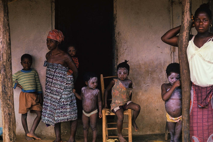 Group of Seven, Women and Children, Liberia