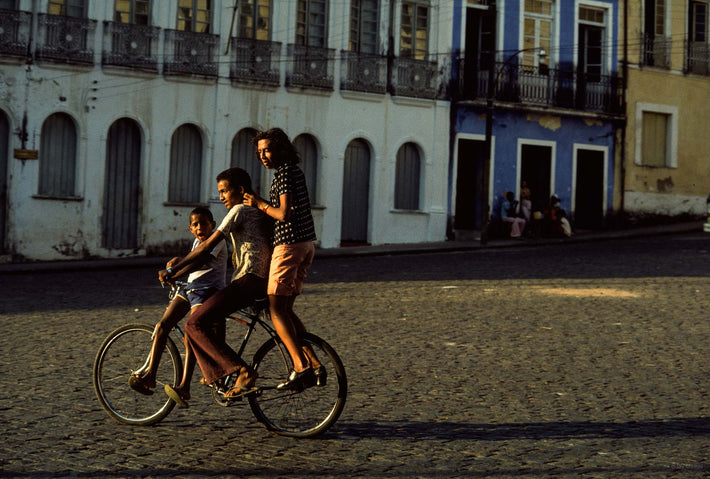 Three on a Bike, Bahia