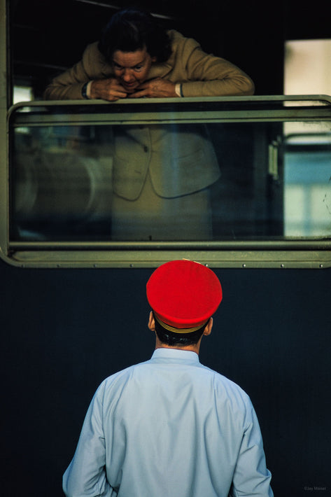 Red Cap and Woman