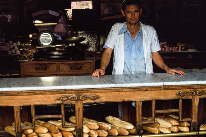 Bakery, Man at Counter, Bahia