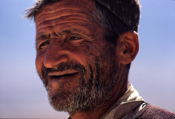 Man with Grizzled Beard, Iran