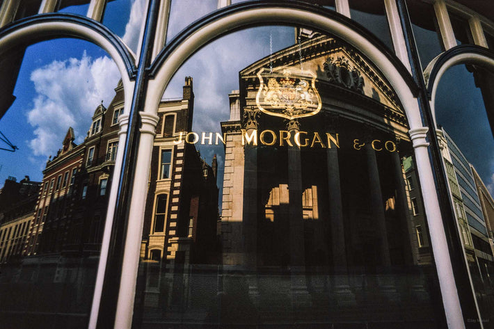 John Morgan & Co. Window, London