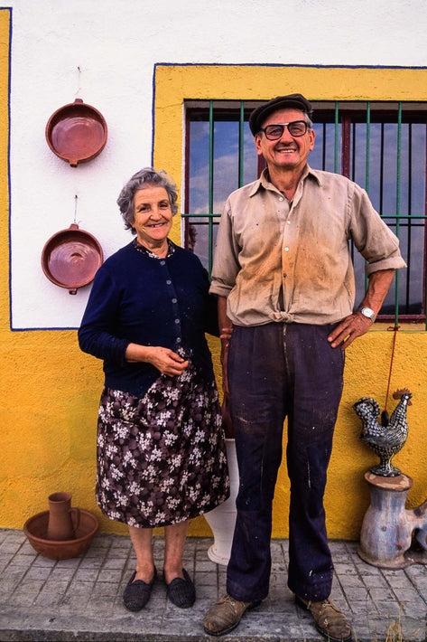 Sweet Old Couple, Spain
