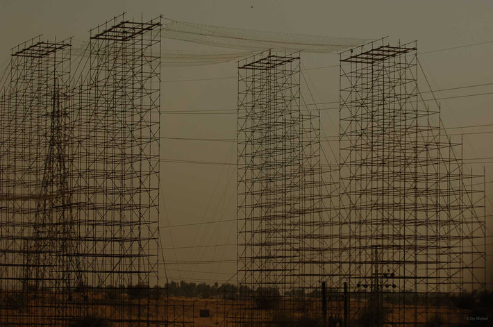 Structures to Hold Electrical Lines, Dubai
