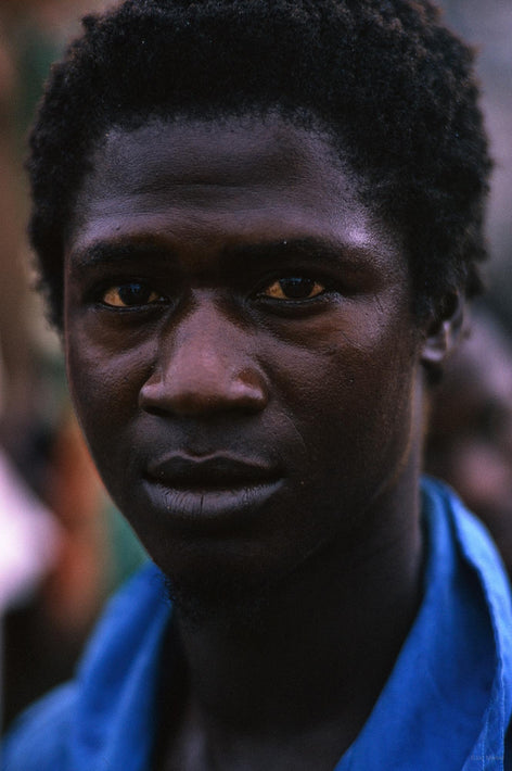 Man in Blue, Liberia