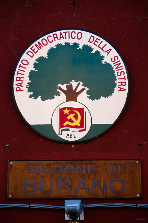 Political Label, Burano
