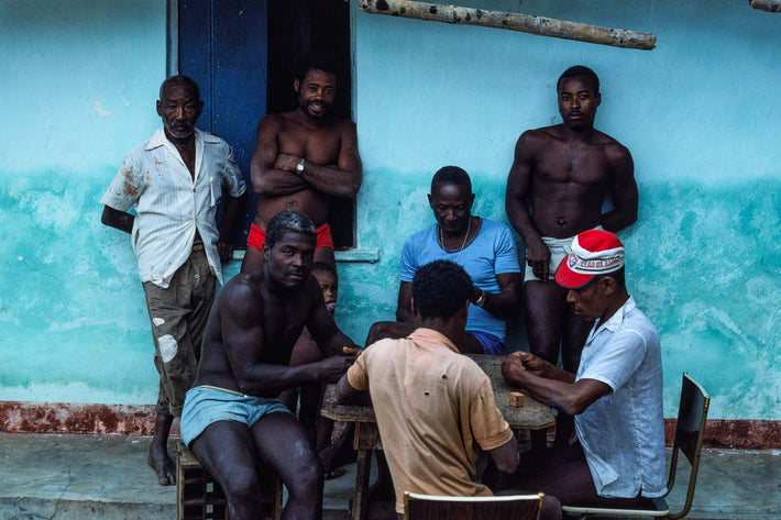 Men Playing Dominoes, Bahia