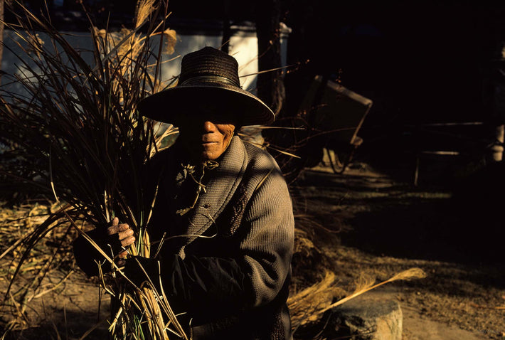 Woman Farmer with Hat, Japan