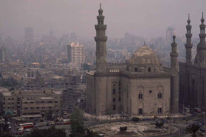 Buildings, Minarets in Cairo, Egypt