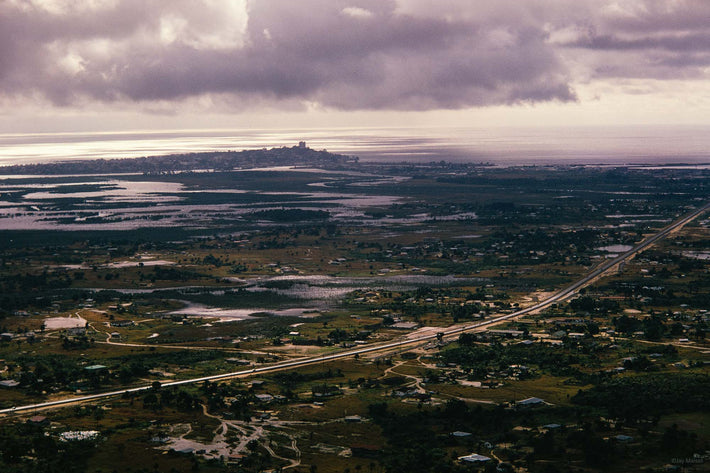 Aerial of Land and Ocean, Liberia
