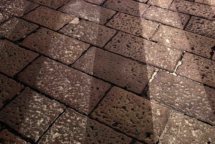 Paving Stones in Street, Milan