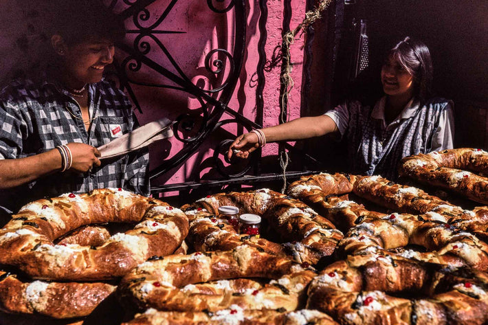 Two Women with Pastries, Oaxaca