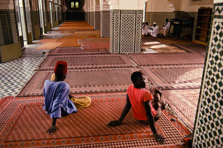 Two Men in Mosque, Senegal