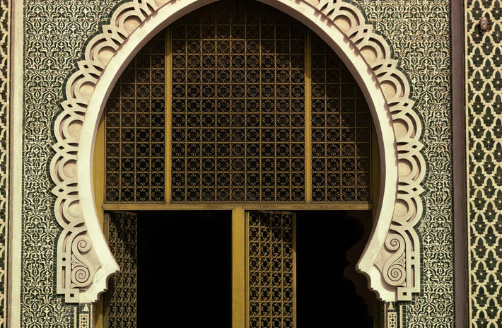 Detail of Mosque, Dakar, Senegal