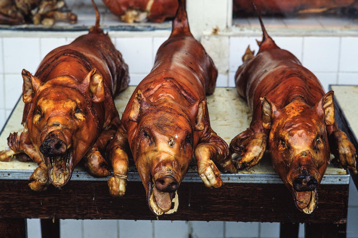 Three Cooked Pigs, Philippines