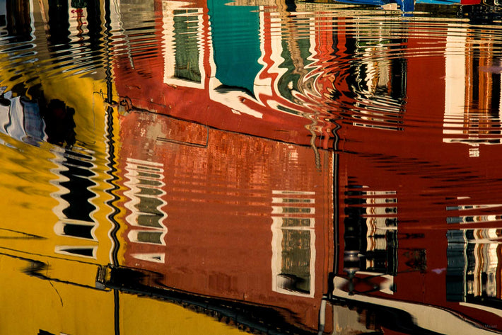 Circular Reflection Only, Burano