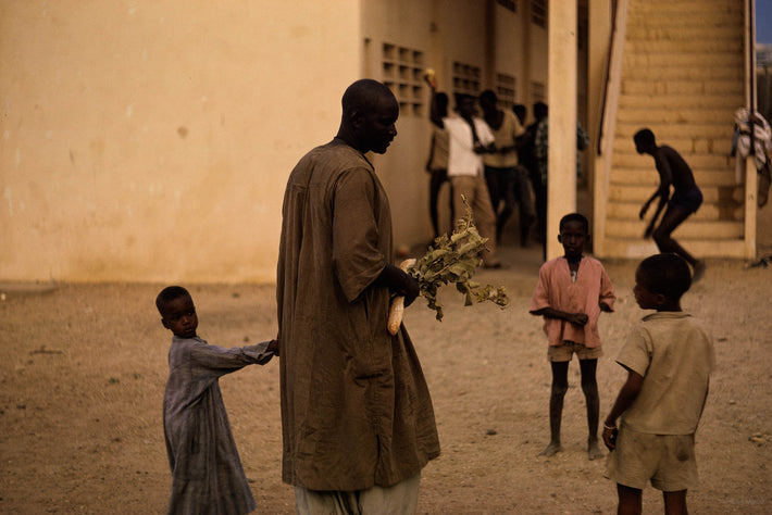 Father and Son, Man Against Steps, Senegal
