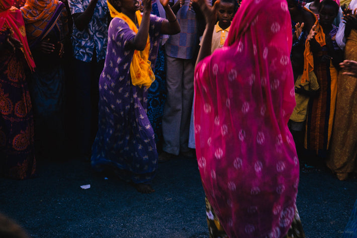 Blurred Women Dancing, Somalia