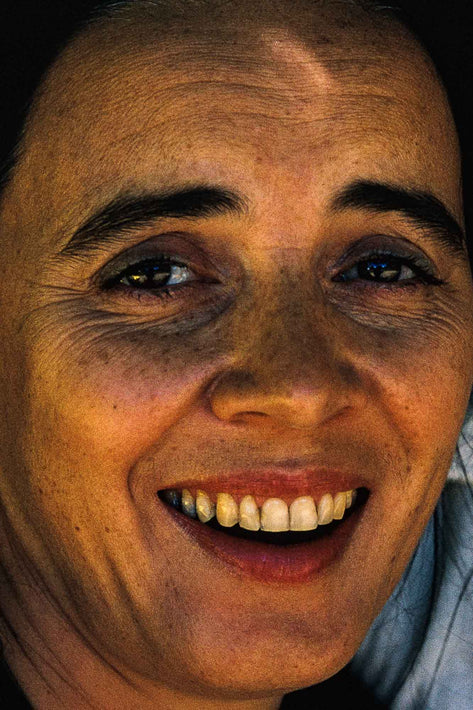 Close Up Woman Laughing, Australia