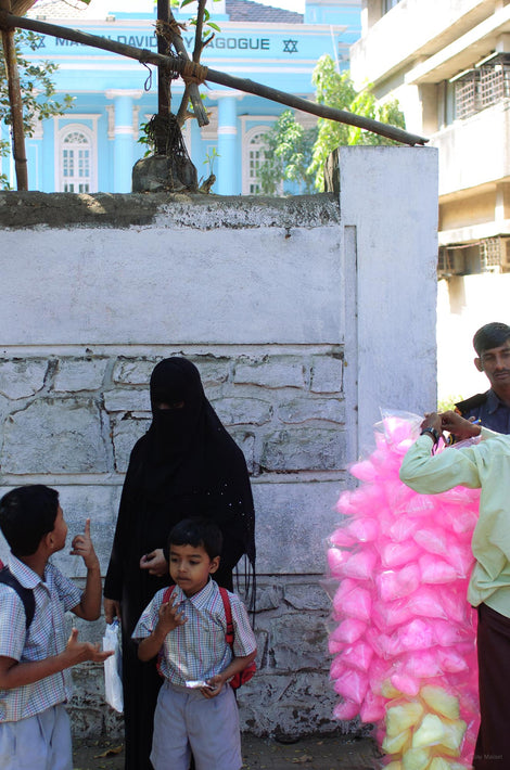 Black Figure, Pink Candy, Mumbai