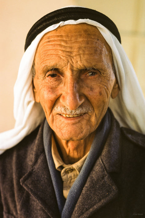 Arabic Elderly Man