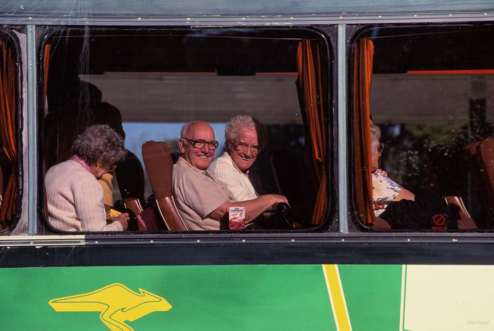 People in Bus, Australia