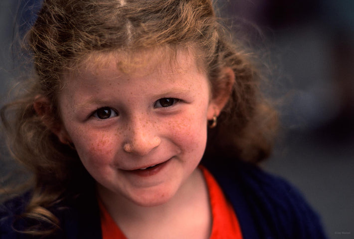 Young Girl, Face, Ireland