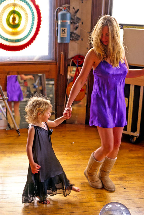 Learning Dance with Mom