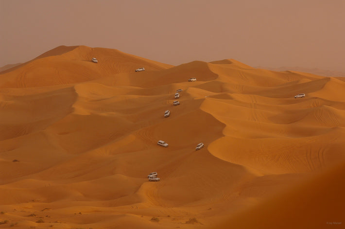 Desert with Cars, Dubai