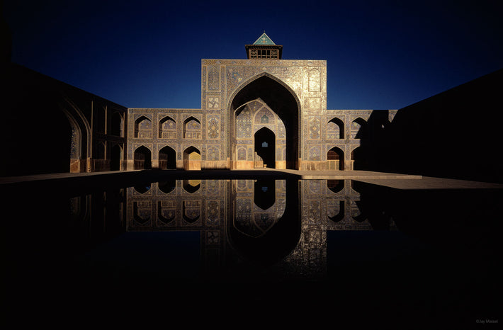 Mosque with Reflection, Isfahan, Iran