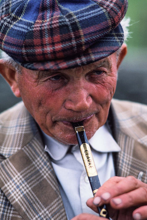 Man with Flute, Ireland