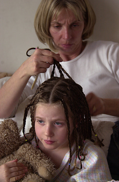 Mom Braiding Hair