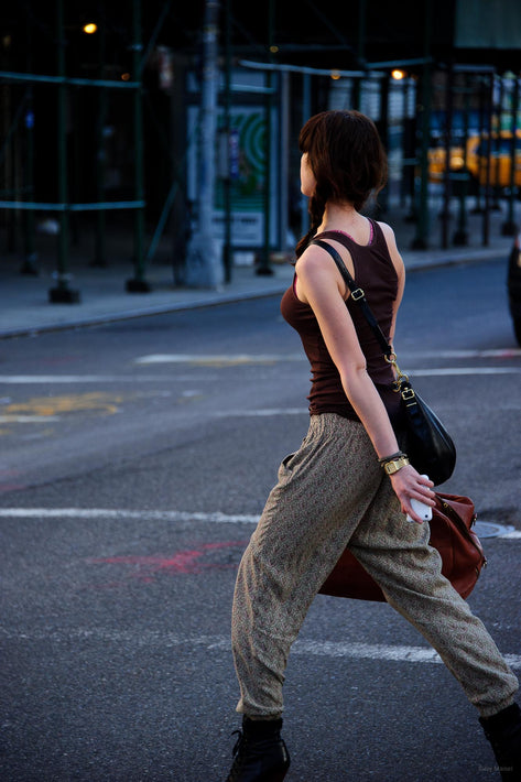Young Woman Striding, NYC