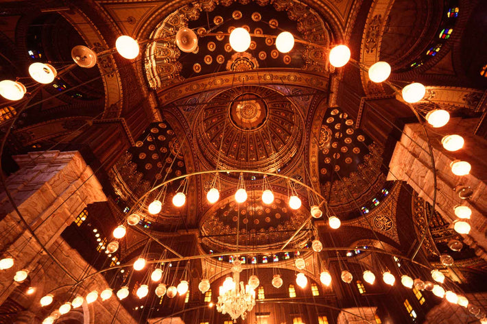 Interior Ceiling of Mosque, Egypt